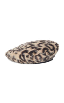 Versace Leopard Print Cap