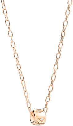 Pomellato Rose Gold and Diamond Necklace