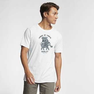 Hurley Enzyme Wash Lords Of Froth Mens T-Shirt
