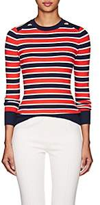 JoosTricot Women's Striped Cotton-Blend Sweater