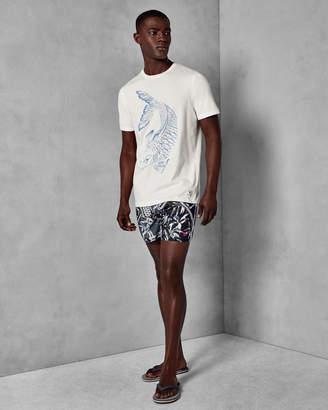 Ted Baker BIGFICH Fish print cotton T-shirt