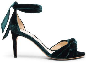 Alexandre Birman Velvet Midi New Clarita Heels