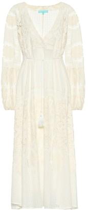 Melissa Odabash Melissa lace cotton-blend dress