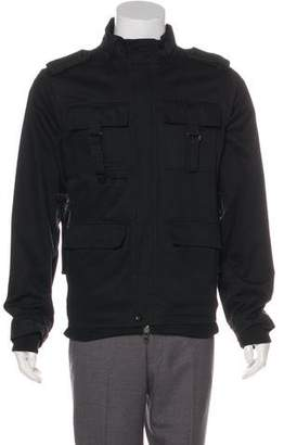 Public School Leather-Accented Field Jacket