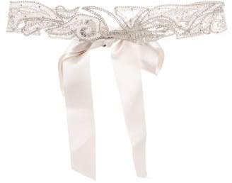 Paige Ossai Bridal Embellished Belt w/ Tags