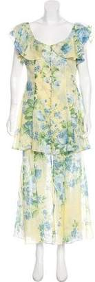 Alice McCall Floral Print Maxi Dress