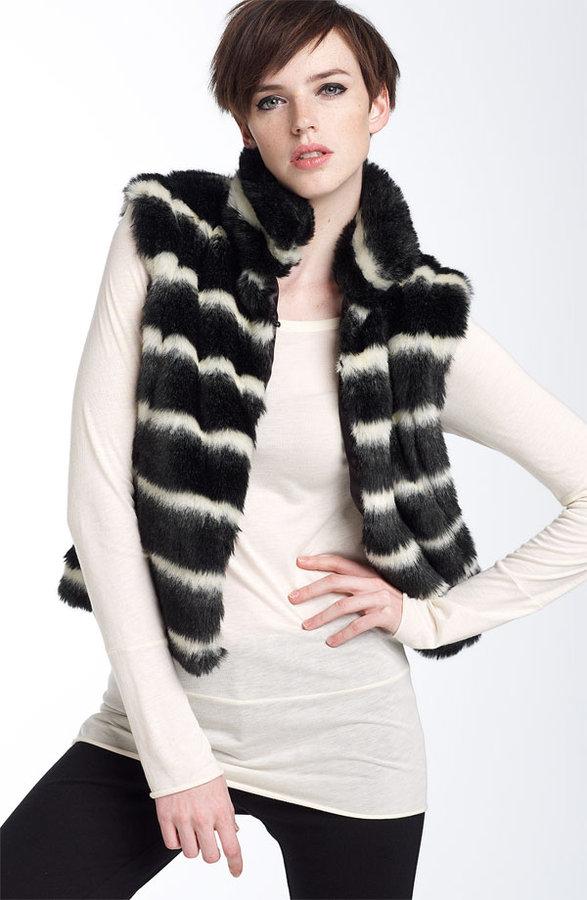 Members Only Faux Fur Vest