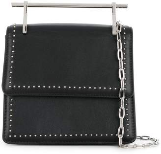 M2Malletier mini M013 Collectionneuse studded shoulder bag
