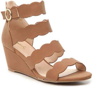 Qupid Joey-29 Wedge Sandal - Women's