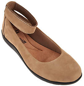 Clarks Collection Nubuck Leather Slip-on Shoes- Medora Nina