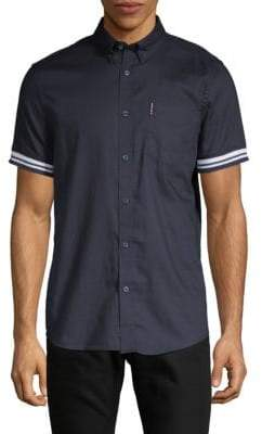 Ben Sherman Short-Sleeve Button-Down Shirt