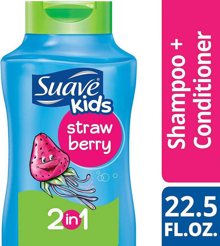 Suave Kids 2 in 1 Shampoo and Conditioner Strawberry Smoothers