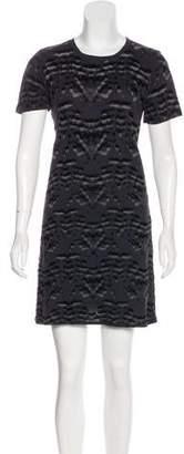 Theyskens' Theory Printed Mini Dress