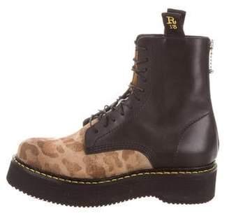 R 13 Combat Platform Boots