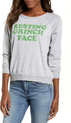 PRINCE PETER Resting Grinch Face Sweatshirt