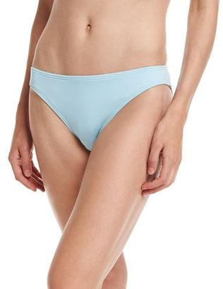 Carmen Marc Valvo Classic Hipster Swim Bottom, Powder Blue $54 thestylecure.com