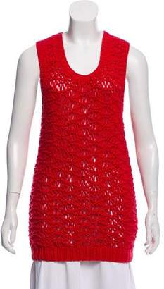 MM6 MAISON MARGIELA Crochet Sleeveless Top