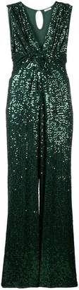 P.A.R.O.S.H. V-neck sequin dress