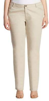 Lafayette 148 New York Lafayette 148 New York, Plus Size Wooster Five-Pocket Style Jeans