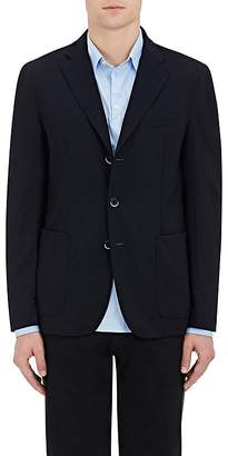 Barena Venezia Men's Stretch-Wool Three-Button Sportcoat