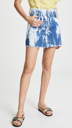 Madewell Tie Dye Denim Skirt