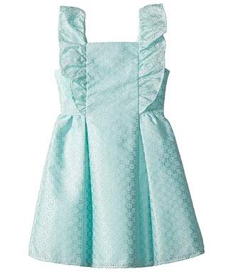 Janie and Jack Ruffle Eyelet Dress (Toddler/Little Kids/Big Kids)