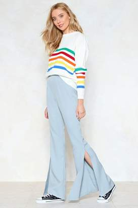 Nasty Gal Take Flare of Yourself High-Waisted Pants