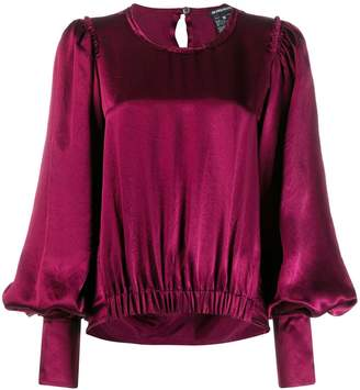 Ann Demeulemeester bell sleeve blouse