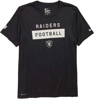 Nike NFL Oakland Raiders Dry Legend Lift T-Shirt