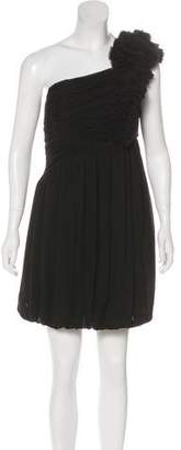 Robert Rodriguez One-Shoulder Mini Dress w/ Tags