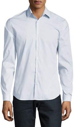 Halston H Signature Cotton Sport Shirt