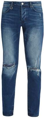 Neuw Iggy ripped-knee slim-leg denim jeans