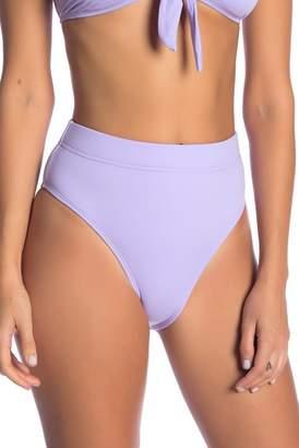 Bikini Lab The Solid High Waist Bikini Bottoms