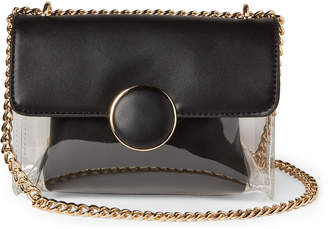 Urban Expressions Karlie PVC Bag-in-Bag Chain Crossbody
