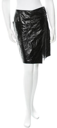 Boy. by Band of Outsiders Leather Skirt $110 thestylecure.com