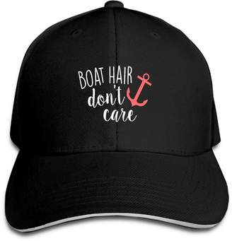 at Amazon Canada · ZH XQ Baseball Cap Unisex Dyed Cotton Adjustable Plain Baseball  Cap Boat Hair Don t Care b78cce6ecaec