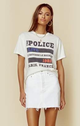 Original Retro Brand The POLICE PARIS CROP TEE