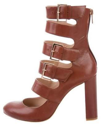 Ruthie Davis Keira Caged Pumps w/ Tags