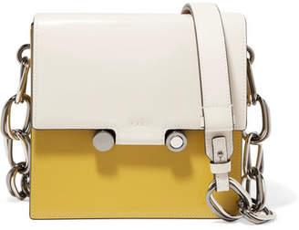 Box Leather Shoulder Bag - Ecru