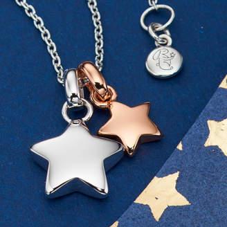 Suki Little Star Jewellery Double Star Necklace