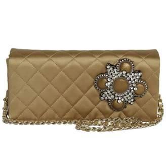 Chanel Silk Clutch