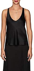 Juan Carlos Obando Women's Silk Satin Tank - Black