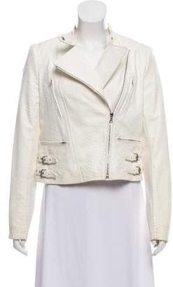 Yigal Azrouel Asymmetrical Leather Jacket