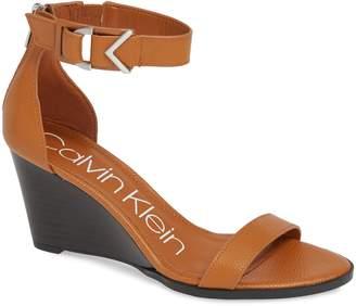 Calvin Klein Wilhelmina Wedge Sandal