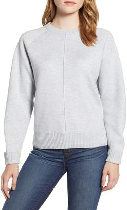Lou & Grey Seamed Faux Cashmere Sweater