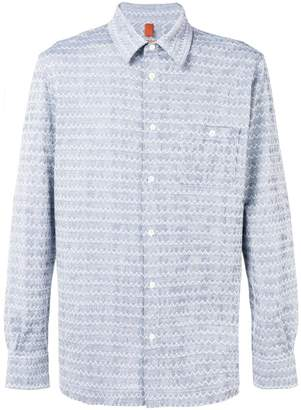 Missoni embroidered fitted shirt