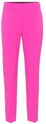 Emilio Pucci Cropped stretch wool pants