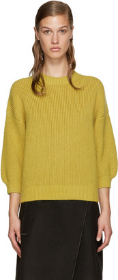 3.1 Phillip Lim Yellow Crewneck Sweater $350 thestylecure.com