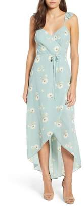 June & Hudson Faux Wrap Dress