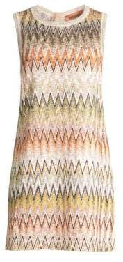 Missoni Zigzag Knit Shift Dress